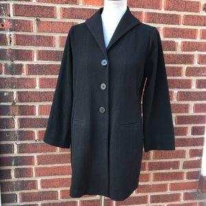Eileen Fisher Women's Sm Black Cardigan Sweater